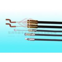 China 6.0mm Galvanized Pram Mechanical Control Cables / Push Pull Control Cables with Copper S Hooks on sale