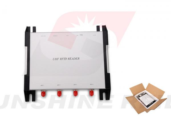 Quality Durable 4 Ports Long Distance RFID Reader USB / RS232 / RS485 / Ethernet for sale