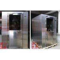 China Stainless Steel Personnel Air Shower Double Person / Portable Cleanroom wholesale