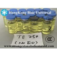 China Yellow Oil Injection Finished Liquids Testosterone Enanthate / Test Enanthate 250mg / ml wholesale