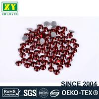 China Tiny Flat Hotfix Glass Rhinestones High Color Accuracy With Even Facets wholesale
