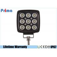 China Auto Part Square 45w Led Work Light For Off Road Spot Flood Beam 2160lm wholesale