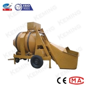 China Self Loading Grout Mixer Machine Drum Type Friction Concrete Mixer wholesale