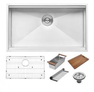 China Good Quality  Undermount Single Bowl Kitchen Sink Buy Stainless Steel Kitchen Sink on sale