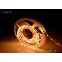 UL Listed Dimmable IP20 4.8w 12VDC Warm White Led Strip Lights 3528 Smd Led Strip