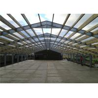 China Steel Frame Prefabricated Industrial Buildings , Metal Workshop Building Durable wholesale