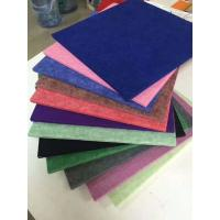 China 3D Decorative Sound Diffusive Acoustic Interior Wall Panels 100% Polyester Fiber Material wholesale