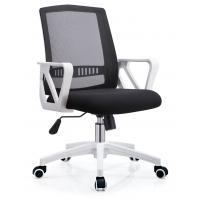 China Classic Ergonomic Mesh Back Office Chair , Mesh Swivel Office Chair PP Foot on sale