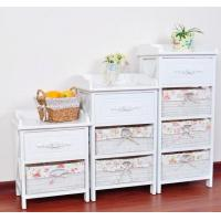 China Living Room Willow Storage Cabinet wholesale