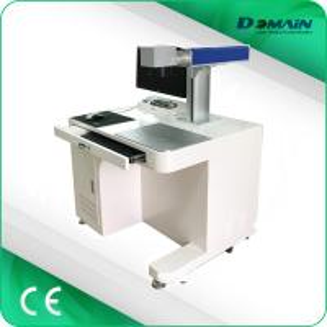 China JCZ Software Desktop Laser Marker , 30w Fiber Laser Marking MachineFor Metal on sale