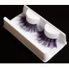 China Party Holloween Carnival eyelash festival crazy stylist purple colorful mink eyelashes wholesale
