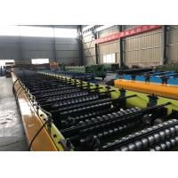 China Steel Sheet Floor Deck Tile Roll Forming Machine / Metal Deck Roll Forming Machine wholesale