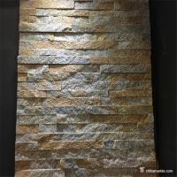 China Rust Quartzite Stone Veneer Mini Panel , Cultured Stone Quartzite Ledger Panel on sale