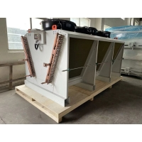China ROHS Refrigeration Equipment Air Condenser Cooler For Hybrid Cold Storage wholesale