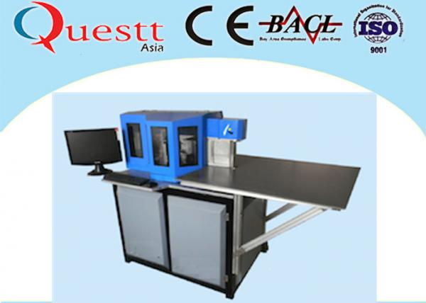 Quality 150mm Max Width Channel Letter Bending Machine PC Control For Aluminum Galvanized Sheet for sale