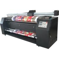 China Roll To Roll Digital Textile Printing / Dye Sublimation Printer For Linen Fabric on sale