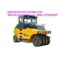 China Road Maintenance Machinery , XP163 Pneumatic Tire Road Roller , Operating Weight 11100kgs, 92KW wholesale