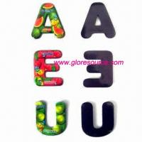 China supply magnetic letters, magnetic alphabets, magnetic numbers wholesale