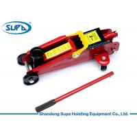 China Rapid Pump Hydraulic Floor Jack , Industrial Hydraulic Jack With Carrying Case on sale