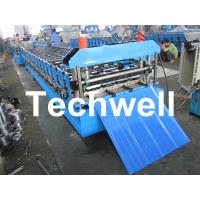 China 13 - 20 Forming Station Roof Wall Roll Forming Machine for Metal Roofing Sheet TW-RWM on sale