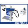 China Легкая машина маркировки лазера волокна обслуживания для аттестованного КЭ чашки лампы СИД wholesale
