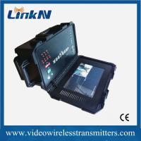 China Portable Video COFDM Hdmi Transmitter And Receiver , Adjustable  46 - 860 MHz wholesale