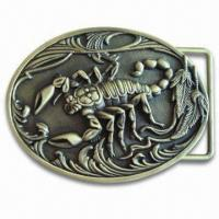 China Belt Buckle, Available in Various Sizes wholesale