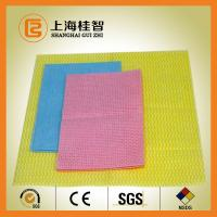 China 100% Rayon Nonwoven Fabric Spun Laced Material for Baby Wipes , Healthcare wholesale