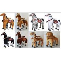 China Lovely Amusement Park Equipment Mechanical Pony Kid Ridding On Walking Animal wholesale