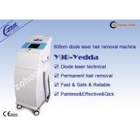 China Beauty Salon Diode Hair Removal Laser Machine 808nm Wavelength SGS Certification wholesale
