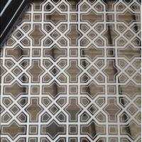 Islamic stainless steel etching decoration designs sheets manufacturer