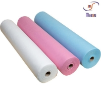 China Hospital Surgical Colorful PP Non Woven Fabric Roll 10gsm on sale