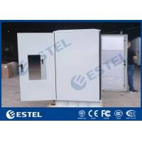 China IP65 Sunproof Sandwich Structur Steel Outdoor Telecom Cabinet With Front Rear Access CE Approval wholesale