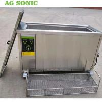China Engine Cylinder Ultrasonic Cleaning Equipment 80l Metal Parts Degreasing Machine wholesale