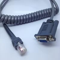 Quality 7ftCoiledMotorola Symbol cable RS232 Cable For use with LS1203 LS2208 And LS4208 for sale