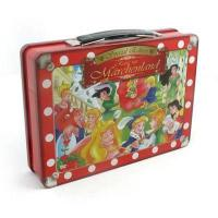 China vintage lunch box,Tin tool box with handle Tin tool box with handle, tool box,lunch tin box,kids lun wholesale