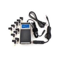 China Up to Date 90W Laptop universal DC Car Adapter 2 in 1 for home and car use wholesale