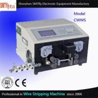 China AWG Wire Cutting Stripping Machine Wire Stripping With Different Wheels on sale