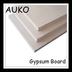 China common paper faced gypsum plasterboard/moisture resistant gypsum board/fireproof gypsum board on sale