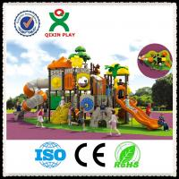 China Child Outdoor Play Equipment Kids Playground Outdoor Large Payground Equipment  QX-009A wholesale