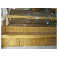 China Vegetable / Fruit Wooden Retail Display Stand Supermarket Wooden Display Shelving wholesale