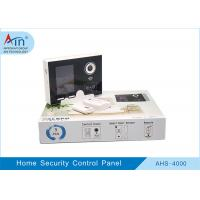 China Wireless Gsm Smart Home Security Devices , House Security Alarm Control Panel wholesale