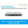 China Кардлесс телевизионная приставка 75 Ω ХД ДВБ к с аудио Долбы порта 1080П Х264 ХДМИ wholesale