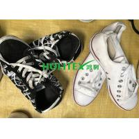 China Wearable Second Hand Clothes And Shoes First Grade Used Canvas Shoes wholesale