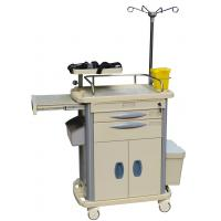 China Emergency BT-EY004 Medical Equipment Trolley With Double Dividers Drawers wholesale
