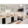 China Montary Kitchen Island Natural Quartz Countertops Pure White wholesale