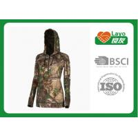 China Thermal Mossy Oak Camo Hooded Sweatshirt For Winter / Spring / Fall on sale