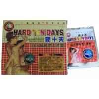 China Hard Ten Days Herbal Male Enhancement Capsules with 4500 mg X 6 Specification wholesale