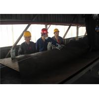 China Heat Resistance Conveyor Belt Vulcanizer For Steel Plant 1200 Mm Platen on sale