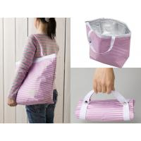 China Polyester Zippered Food Thermal Bags , Cooler Lunch Bag Take Out Reusable wholesale